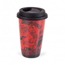 Deadpool - Hot mug of awesome! (Ceramiczny travel mug)