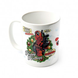 Deadpool - kubek Happy Holidays