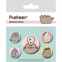 Pusheen - Przypinki Pusheen Says Hi