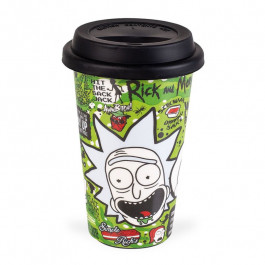 Rick and Morty - Ceramiczny Travel Mug