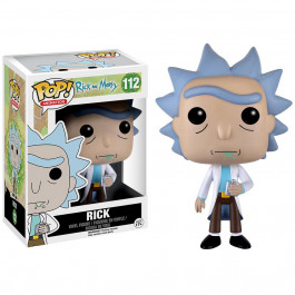 Rick and Morty - figurka Rick z piersiówką (Funko Pop! nr 112)