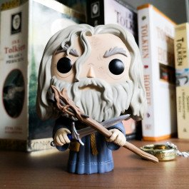 The Lord of the Rings - figurka Gandalf Szary z Glamdringiem (Funko Pop! nr 443)