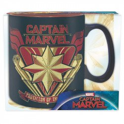 Kapitan Marvel - Protector Of The Skies - kubek 460 ml
