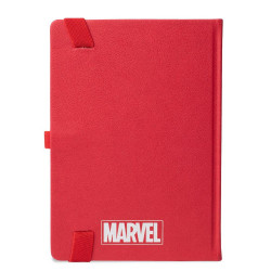 Marvel - czerwony notes logo Marvel