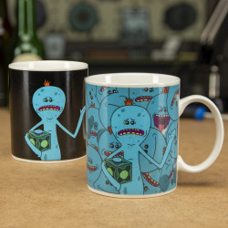 Rick and Morty - Mr. Meeseeks - kubek zmieniający kolor