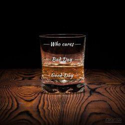 Szklanka do Whisky - Who Cares