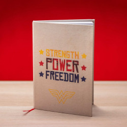 Wonder Woman - notes STRENGHT POWER FREEDOM