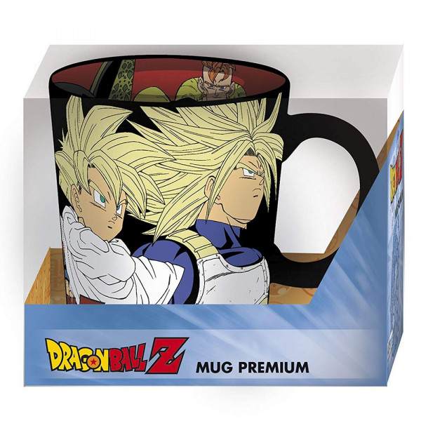 Dragon Ball Z - Saiyanie vs. Androidy - kubek 460 ml
