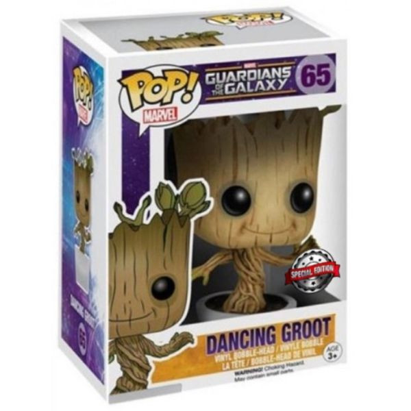 Guardians of the Galaxy - figurka Dancing Groot - Special Edition (Funko Pop! nr 65)
