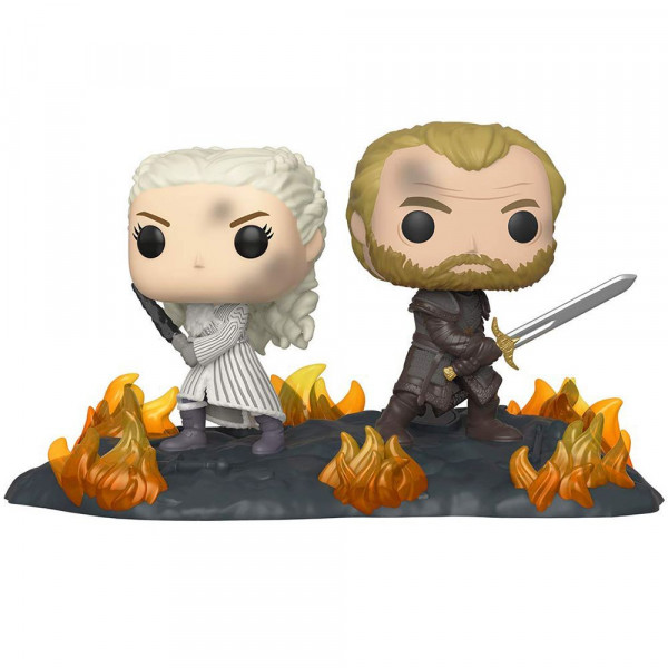 Gra o Tron - figurka Daenerys i Jorah at the Battle of Winterfell (Funko Pop! nr 86)