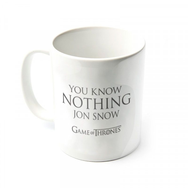 Gra O Tron - Kubek You Know Nothing Jon Snow