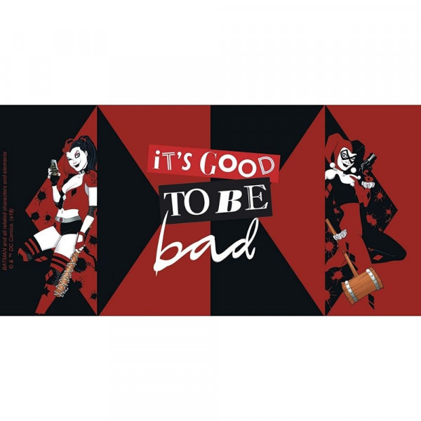 Harley Quinn - kubek It's good to be bad