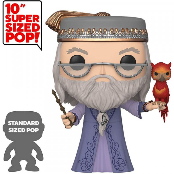 """Harry Potter - figurka Albus Dumbledore with Fawkes 10"""" (Funko Pop! nr 110)"""