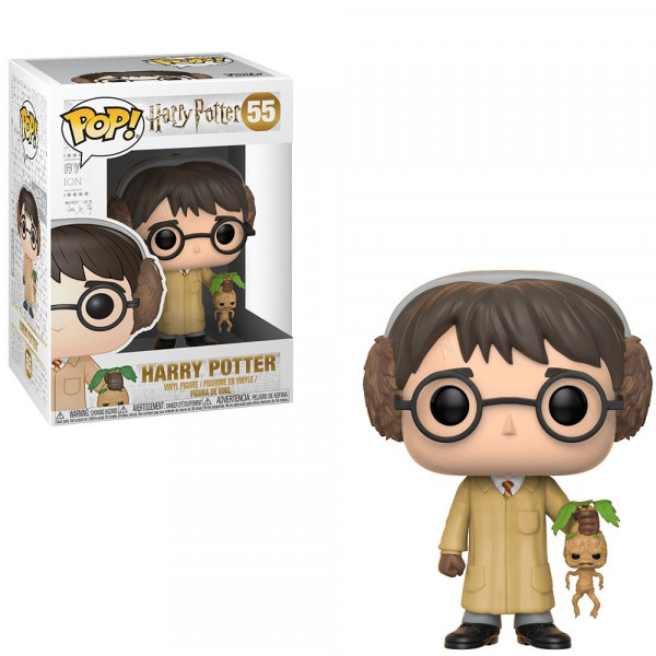 Harry Potter - figurka Harry i mandragora (Funko Pop! nr 55)