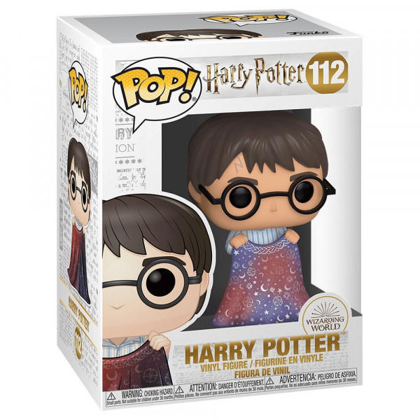 Harry Potter - figurka Harry Potter (with Invisibility Cloak) (Funko Pop! nr 112)