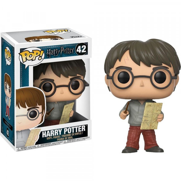 Harry Potter - figurka Harry Potter z Mapą Huncwotów (Funko Pop! nr 42)