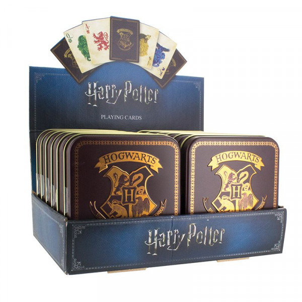 Harry Potter - Karty do gry z Hogwartu