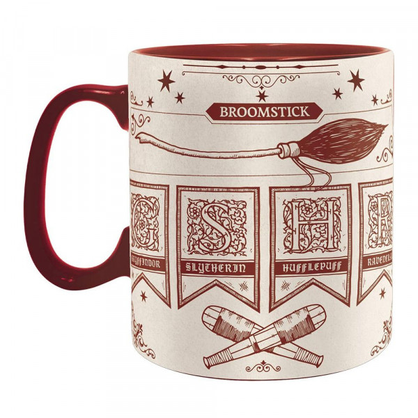 Harry Potter - Kubek Quidditch at Hogwarts 460 ml