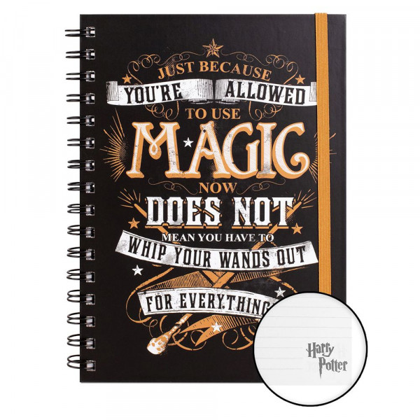 arry Potter - Notes Allowed To Use Magic