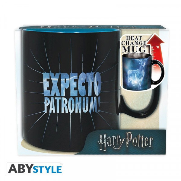 Harry Potter - Expecto Patronum – kubek zmieniający kolor 460 ml