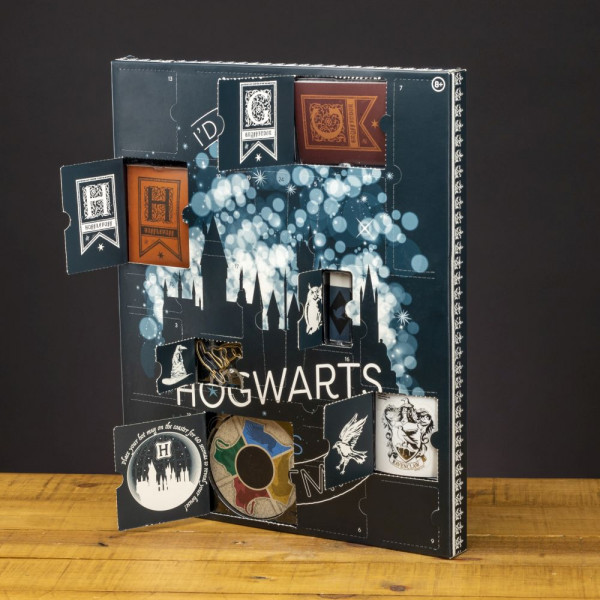 Harry Potter - I'd rather stay at Hogwarts this Christmas - kalendarz adwentowy