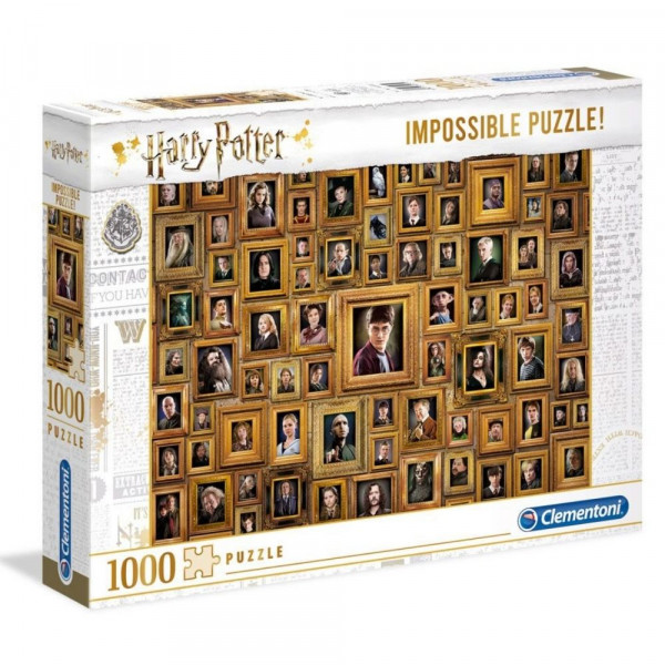 Harry Potter - Portrety bohaterów - Impossible Puzzle 1000 elementów