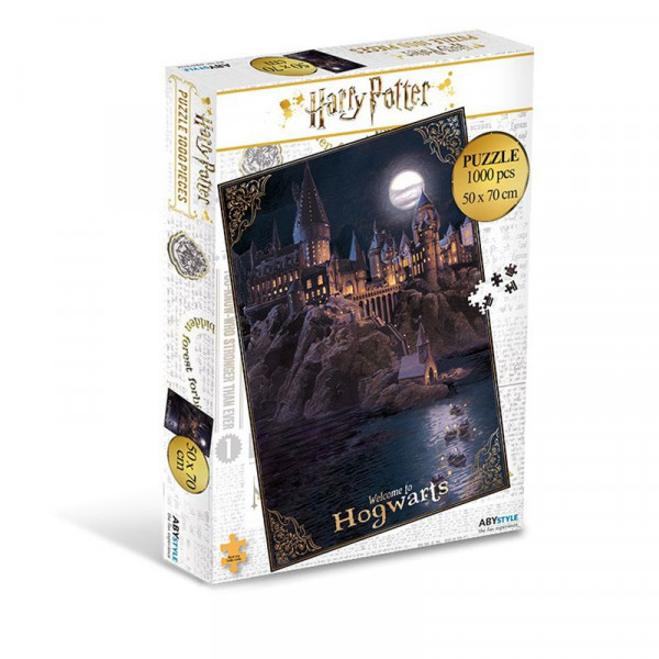 Harry Potter - Welcome to Hogwarts - puzzle 1000 elementów