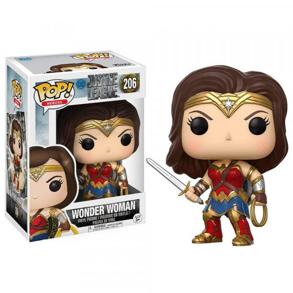 Justice League - figurka Wonder Woman (Funko Pop! nr 206)