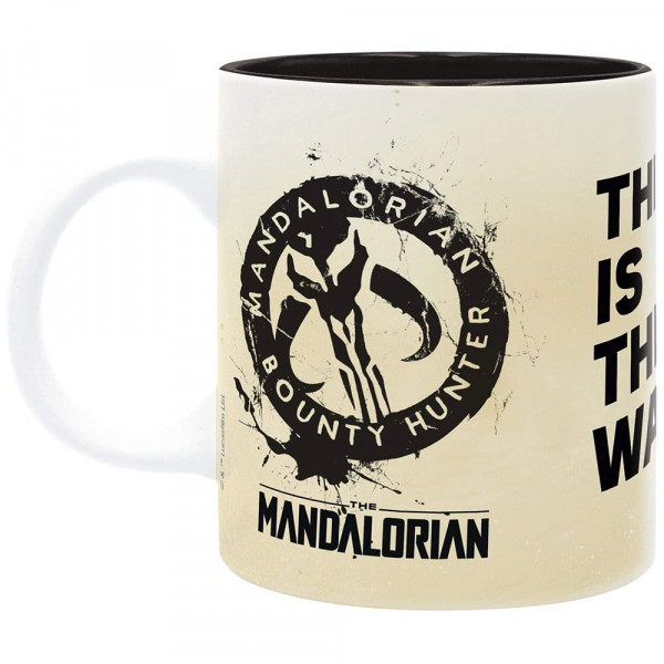 Star Wars: The Mandalorian - kubek Mandalorian Bounty Hunter - This is the Way