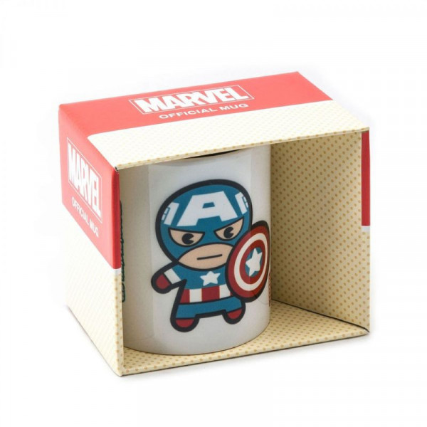 Marvel Kawaii - Kubek Kapitan Ameryka