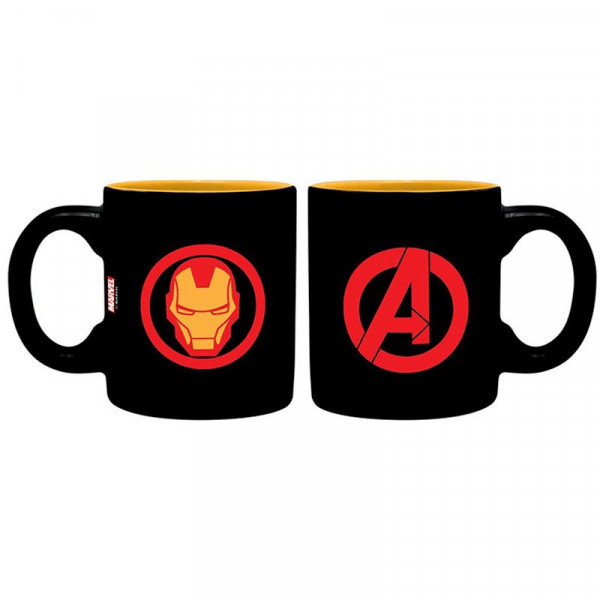Marvel - kubeczki do espresso Avengers: Iron Man i Spider-Man