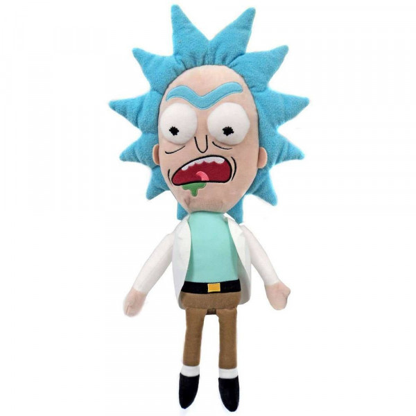 Rick and Morty - GALACTIC PLUSHIES XL - pluszowy Rick Worried - EXCLUSIVE