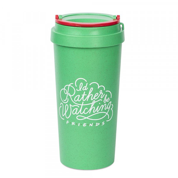 Przyjaciele - Central Perk - I'd rather be watching Friends - ekologiczny travel mug