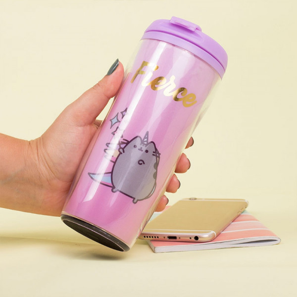 Pusheen - Fierce Travel Mug