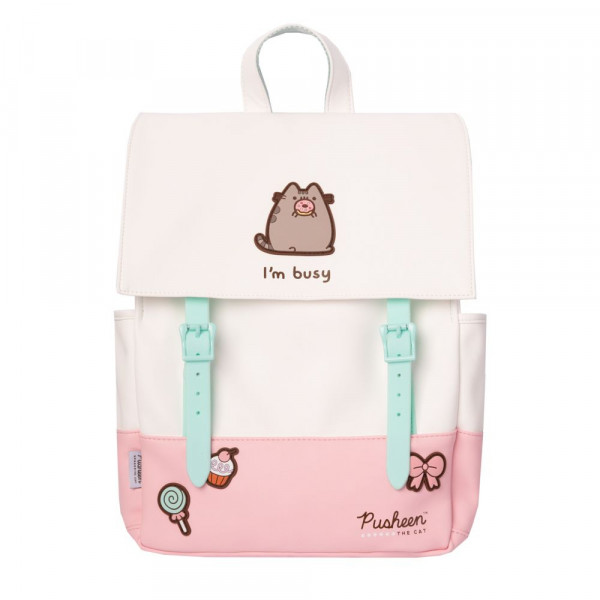 Pusheen - I'm busy - plecak (ROSE COLLECTION)