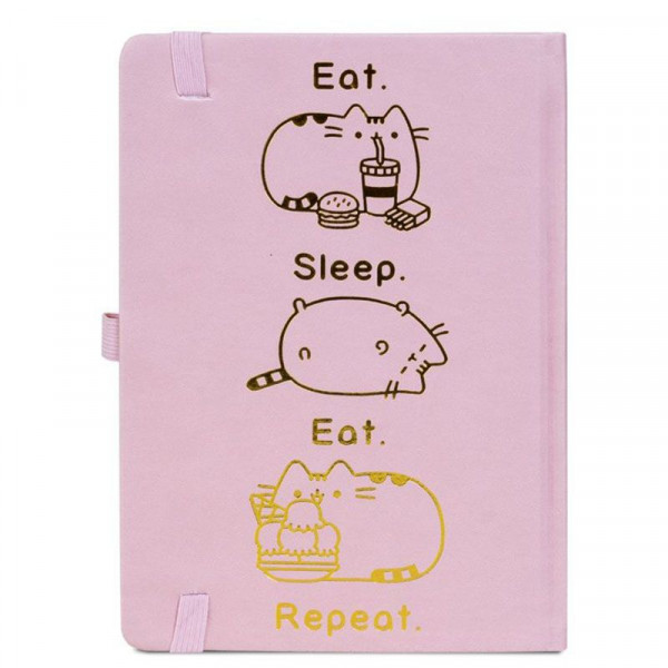 Pusheen - notes Eat, Sleep, Eat, Repeat