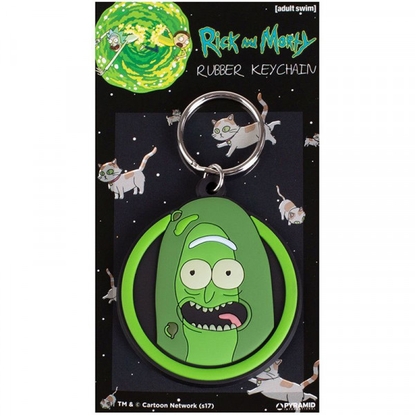 Rick and Morty - brelok Pickle Rick