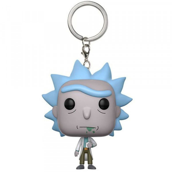 Rick and Morty - brelok Rick (Pocket Pop! Keychain)