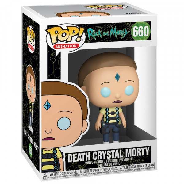 Rick and Morty - figurka Death Crystal Morty (Funko Pop! nr 660)