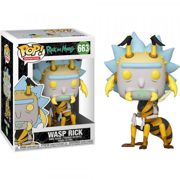 Rick and Morty - figurka Wasp Rick (Funko Pop! nr 663)