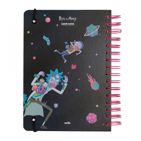 Rick and Morty - Notes Space bullet journal na spirali