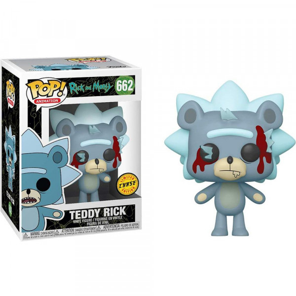 Rick and Morty - figurka Teddy Rick - CHASE (Funko Pop! nr 662)