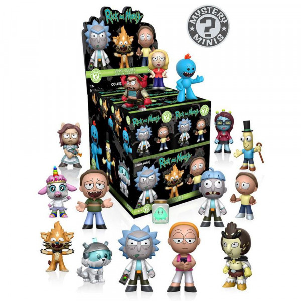 Rick and Morty - mini figurka niespodzianka (Mystery Minis Funko Pop!)