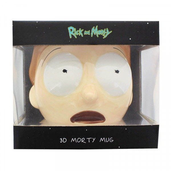 Rick and Morty: Morty Smith - kubek 3D