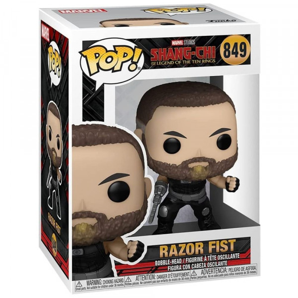 Shang-Chi and The Legend of The Ten Rings - figurka Razor Fist (Funko Pop! 849)