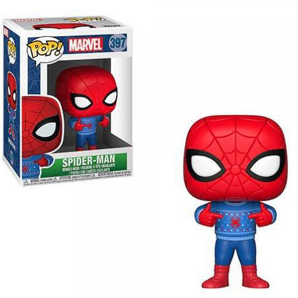 "Spider-Man - figurka świąteczna ""Ugly Sweater"" (Funko Pop! nr 397)"