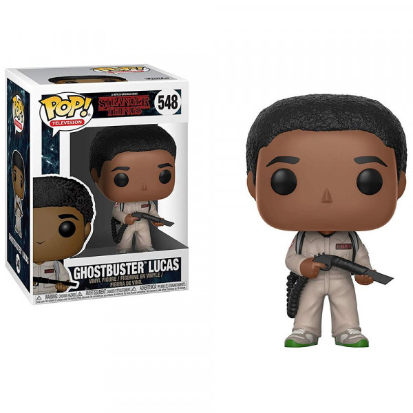 Stranger Things - figurka Ghostbuster Lucas (Funko Pop! nr 548)