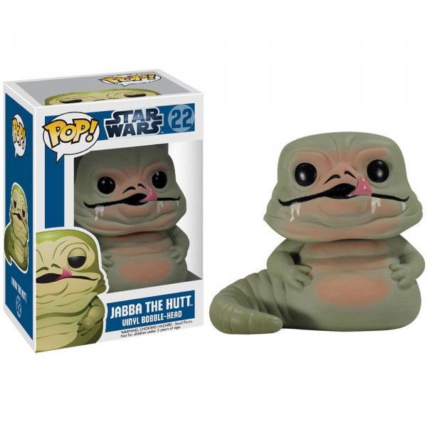 Star Wars - figurka Jabba the Hutt (Funko Pop! nr 22)