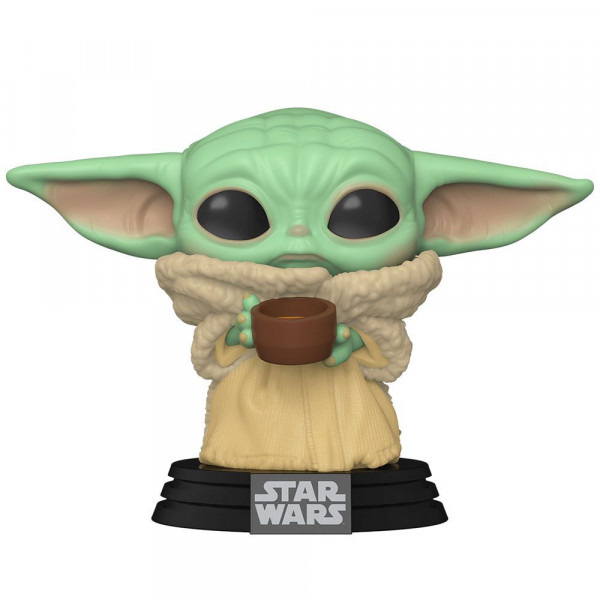 Star Wars: The Mandalorian - figurka The Child with Cup (Funko Pop! nr 378)