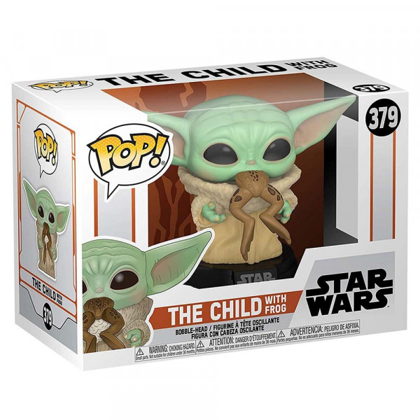 Star Wars: The Mandalorian - figurka The Child with Frog (Funko Pop! nr 379)